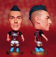 ac milan star doll & little figurine football player 92 Shaarawy