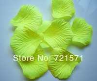 Yellow Rose petals party wedding Bridal Decoration 1000PC