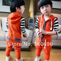 2014 children's clothing children's pants child vest jumpsuit bib pants male female child casual trousers