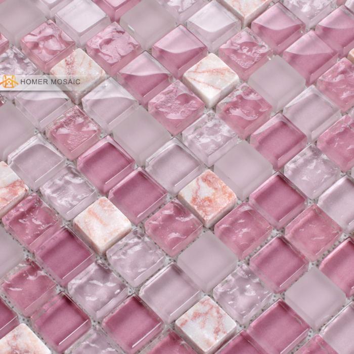 Online kopen wholesale roze glazen knikkers uit china roze glazen knikkers groothandel - Roze keuken fuchsia ...