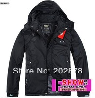 2014 New Men's Jackets Brand  Jacket Man's Coat for Winter Autumn Cotton Padded Outdoors Sport Coat Sales and Free shipping