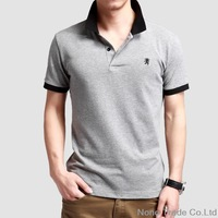 New 2014 Fashion Fitness Camisetas Masculinas Men mens polo shirt brands Quick-drying Polo Men  Sports SIZE M-XXL menswear