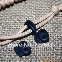 Nylon rope buckle lock transparent spring clasp black dancer/rope buckle
