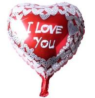 50pcs/lot 18inch Peach Heart Foil Balloons Wedding Decoration Balloon Brithday Party Helium Balloon