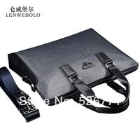 2014 New arrival fashion brand men bags men genuine leather messenger bag high quality man brand business laptop bag briefcase