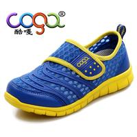 2015 Children shoes  boysgirls shoes breathable single tier net fabric casual sport shoes
