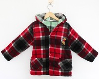 2014 New cotton coats children coat kids fashion clothes reversible coat high quality warm cotton