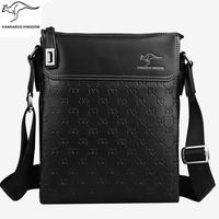 Phalanger boutique bag men high quality cowhide male shoulder bag genuine leather bag business bag briefcase