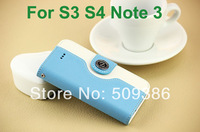 Wallet Flip PU Leather Design Credit Card Slots Case For Samsung Galaxy S3 i9300 S4 i9500 Note 3 N9000