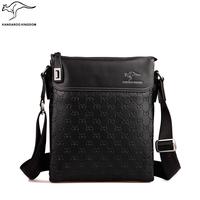 Kangaroo male package commercial male genuine leather briefcase shoulder bag messenger bag cowhide male bag man