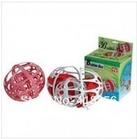 Free Shipping! PP +RESIN Laundry Ball Bra  Nursing Lingerie Wash Bags Double Spherical Care Wash Basket