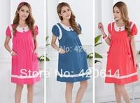 2014 Fashion Summer Winter Autumn Spring Causal Model Maternity Dress Slim Plus Size Dresses Vestidos Pregnant Top Clothes 80005