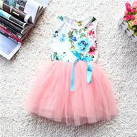 Hot Sale! Free Shipping! 2014 New Childrens Dress Girls Summer Vest Dress,Girl baby tutu,Girls Dresses