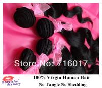 "4Bundles Lot Body Wave Peruvian Virgin Hair Bundles12""-30"" Mixed Length 5A Unprocessed Human Hair Free Shipping By DHL"