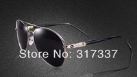 2014 New Arrivals Men Loved Fashion Polarized Sunglasses MONT Sunglasses Four Color to Choose MONT209 Free shipping