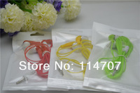 20pcs/lot New 8 Color crystal 3.5mm Stereo Earbuds In-ear Earphone For ipod/ipad/MP3/MP4/ mp5, Free Ship