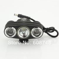 2000Lm CREE XM-L U2 +2xCREE R2 LED  Rechargeable Headlight Light Led Bicycle Light +8.4V 6400MAH + Charger