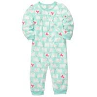 Carter baby microfleece romper, Baby girl Long Sleeve Jumpsuit, 0-12M  winter autumn play &sleep wea