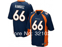 Free shipping #66 Manny Ramirez  Jersey Cheap game football jerseys  Wholesale Broncos