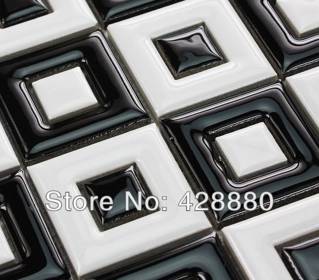 pavimento campagna in bianco e nero di ceramica adesivi per piastrelle ...