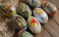 mini Tin box Easter Eggs Painting (6 style/set)