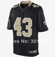 Free shipping #43 sproles Jersey Cheap game football jerseys  Wholesale SAINTS