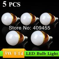 Wholesale(5pieces/lot)Led E14 AC85-265V 9w 7w 6w 5w 4w 3w Warm/White lighting LED Bulb Lamp