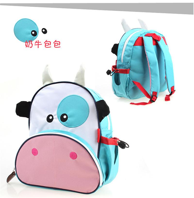 New 2014 kindergarten baby children super lovely cartoon school bags for boys and girls(China (Mainland))
