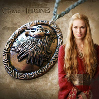 Game Of Thrones,Cersei Lannister Lion Pendant Neaklace,Classic Alloy Pendant