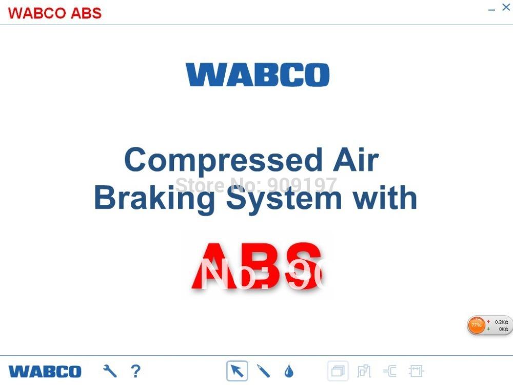 WABCO PRESENTATION SOFTWARE EBS Presentation 4.02+ECAS Presentation 1.12+ABS Presentation 3.12(China (Mainland))