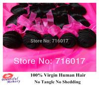4/3pcs lot Brazilian virgin hair body wave,Grade 5A,100% Human hair weaves Fast free shipping
