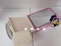 Mermaid fashion phone powder belt puff drawer mobile phone pendant small