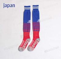 A+++ 2014 New Japan honda kagawa Soccer Socks Football Socks Kits Thailand Quality Thick Bottom