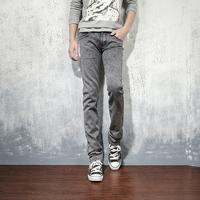 Russia Brazil 2014 elastic slim men's clothing male jeans pants 110 Wholesale Promotion