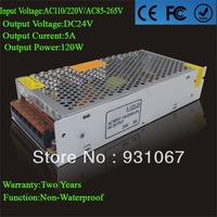 Supernova Sale Led Transformer 24v 5A 120W Power Din Rail AC110/220V Led Driver For Strip Or Modules Lamp Wholesale 1pcs/lot