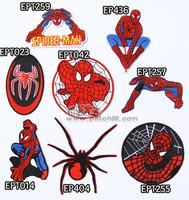 20140314 Classic cartoon spiderman fabric diy embroidered armbandand armatured