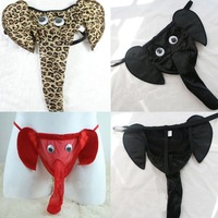 Mens Sexy Lingerie Elephant G-string Underwear Pants Male T-back Thongs Panty 71942-71944