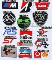 20140314 Motorcycle car emblem fabric diy logo embroidered armbandand armatured