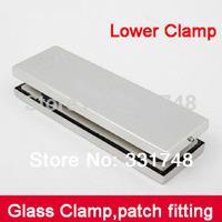 Free shipping Glass door clamp lower clamp HC-3110D glass door hardware accessories door clip patch fitting