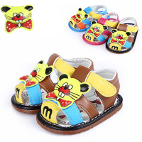 Free Shipping   2014 Newborn Baby's Leather Sandals In Summer  Oxford Soft-soled Shoes