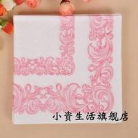 Fashion Napkin Paper Printed Table Napkin Party Facial Tissue Printing Serviette ( 10 packs)