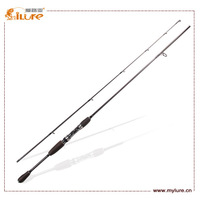 Sales Promotion 9pcs + 1pcs for free each lot ! Cheap rod -2014 ILURE Spinning Fishing Pole Carbon Rod  702MFS 7''