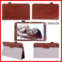 Wholesale High quality Horse crazy pattern flip leather cover case for samsung galaxy Tab Pro 8.4 T320 50pcs/lot