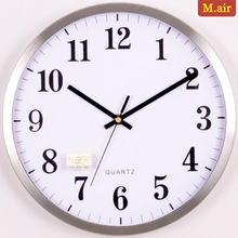 stainless wall clock promotion