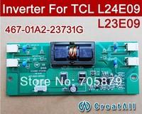 NEW 467-01A2-23731G 4 CCFL LCD TV inverters For TCL L24E09 L23E09 L23K01,467-0101-23731G 467-0101-24001 updated version