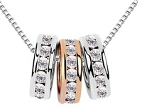 Wholesale 18K White Gold Plated Austrian Crystal Necklace,Fashion Necklace,Fashion Wedding Jewelry,CCWMG36506678156