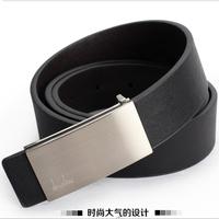 Men's Belts and Women Fashion Cowskin Leather Buckle Belt Brand Casual Belts for Men pk197
