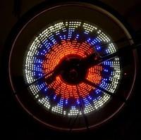 Extreme mountain bike lights blazing Hot Wheels bicycle wheel spokes lamp light wire lights riding equipment
