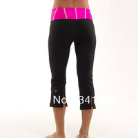 Wholesale retail New designer brand LULULEMON pants Cheap Yoga lulu lemon clothing Size 2 4 6 8 10 12 black lulu lemon pants