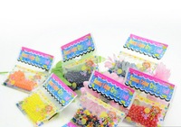 With Retial Package 3Gram/Bag Crystal Soil Water Pearls Gel Jelly Balls Beads For Wedding Decoration